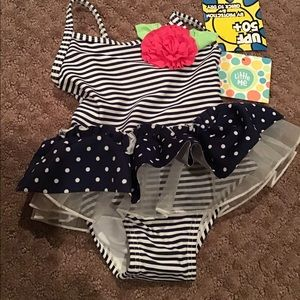 🌷LITTLE ME BATHING SUIT NWT SIZE 6-9 MONTHS